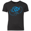 OBX Lyfe Sky Blue Youth Triblend Crew in 5 Colors