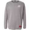 Cloud White OBX Lyfe Rawlings® Flatback Mesh Fleece Pullover in 7 Colors