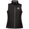 Cloud White OBX Lyfe Ladies' Quilted Vest in 5 Colors