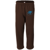 Sky Blue OBX Lyfe Badger Open Bottom Sweatpant with Pockets in 8 Colors