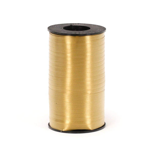 Holiday Gold Curling Ribbon For all Occasions - Great for Balloons, Gifts, Decor