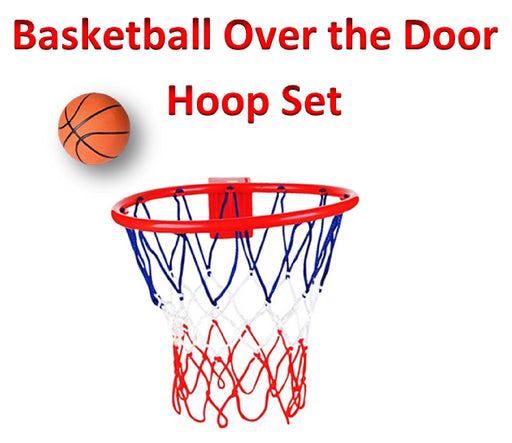 Play Kreative Basketball and Hoop for Over Door or Wall mount - Attach and Play - PlayKreative.com
