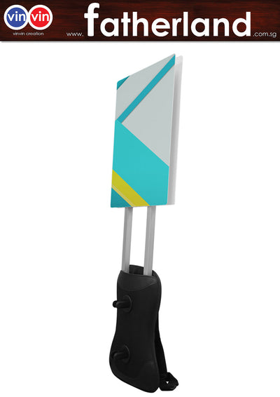 Man Pack Mobile Sign - A2 Size ( Included )