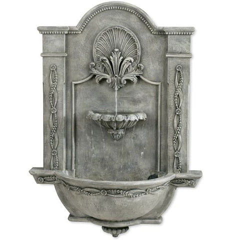 Formal Garden Wall Fountain