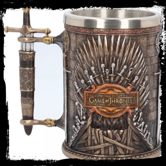 Iron Throne Tankard (GOT) 14cm