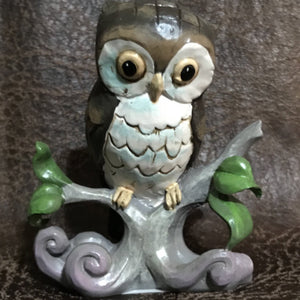 Jim Shore Owl on a Branch