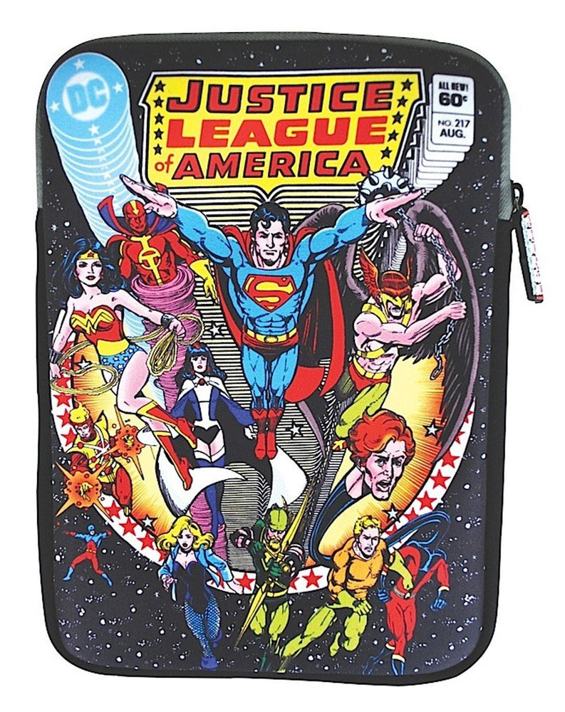 Justice League Comic Tablet Sleeve