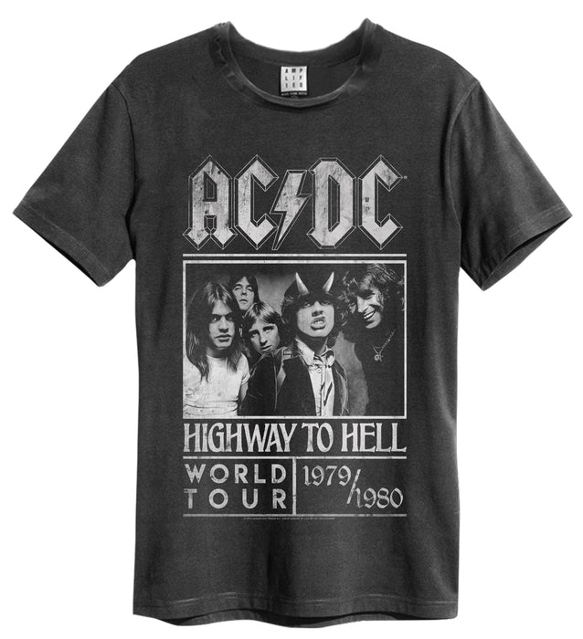 Amplified AC/DC Highway To Hell Poster Mens T-Shirt