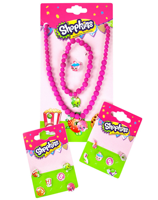 Shopkins Beaded Jewellery and Earring Set