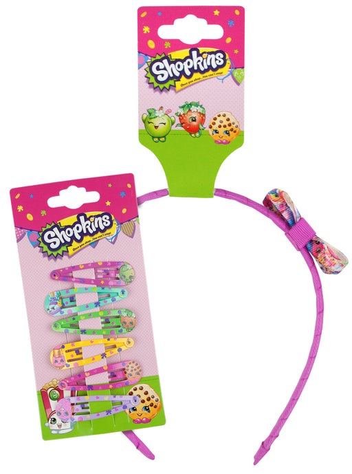 Shopkins Girls Hair Care Bundle Gift Set