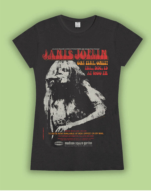 Amplified Janis Joplin Womens T-Shirt