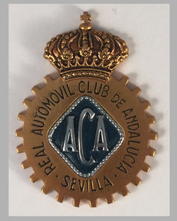Real Automovil Club de Andalucia, Seville (Spain) car grill badge