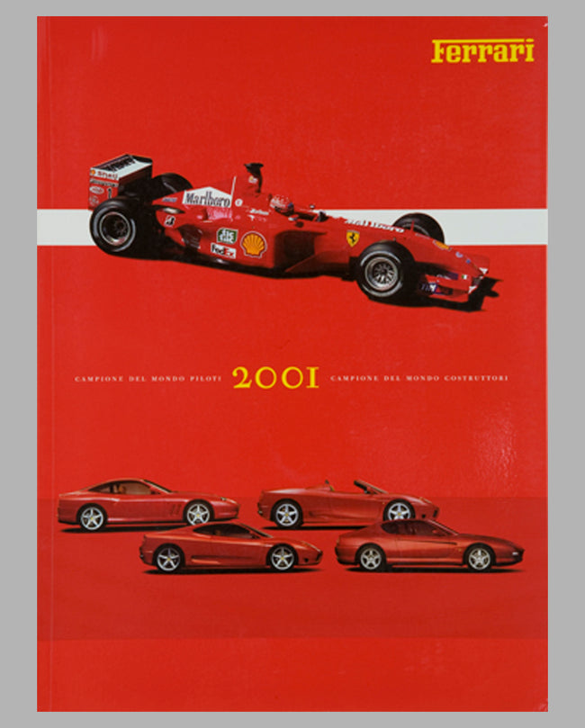 Ferrari Yearbook 2001