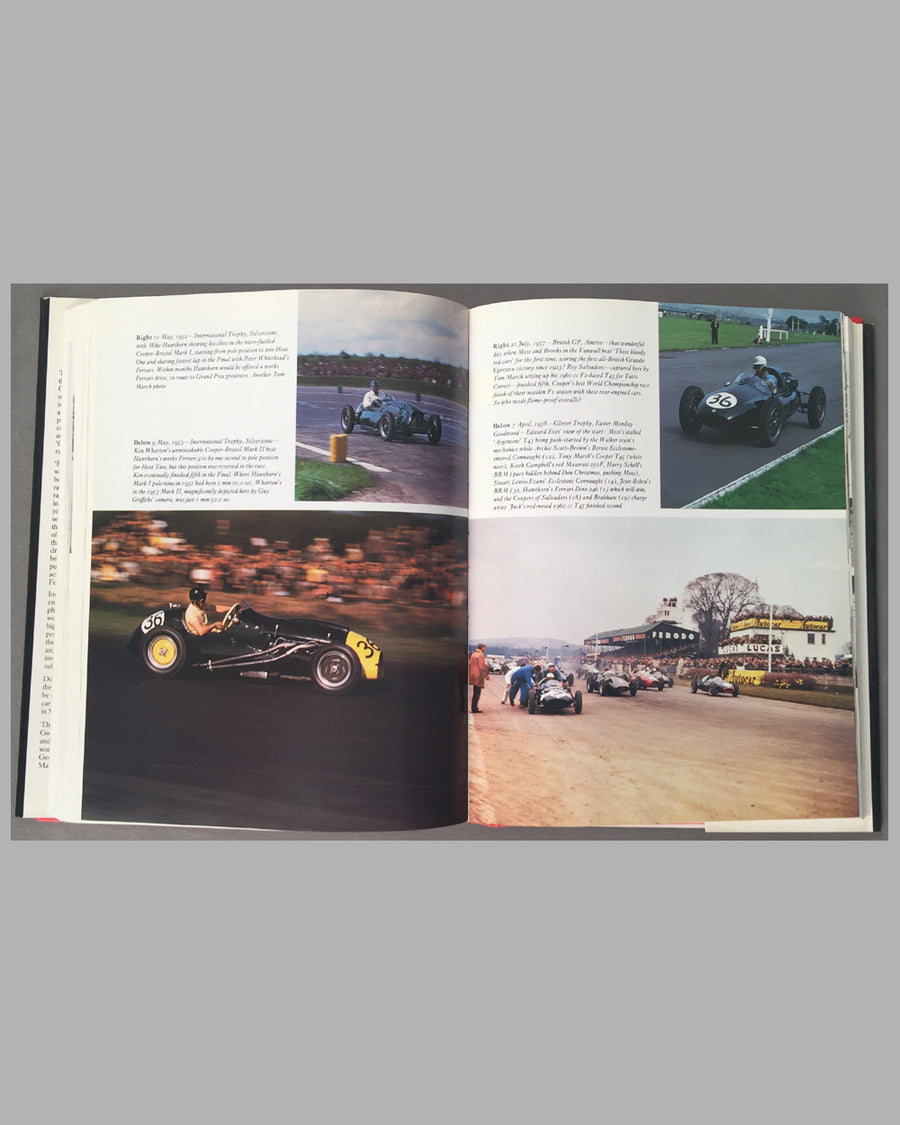Cooper Cars New Edition, 1991, book by Doug Nye 2