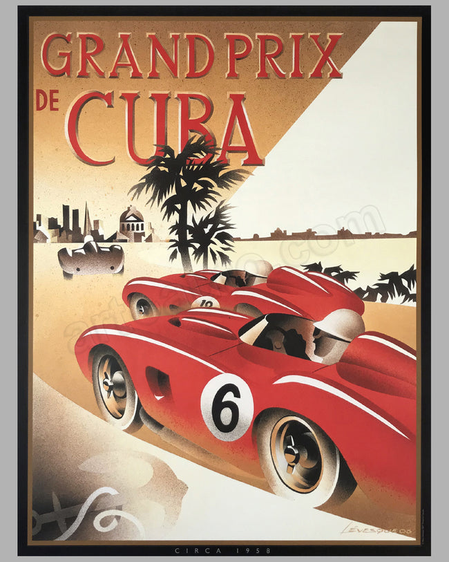 Grand Prix de Cuba poster by Alain Lévesque