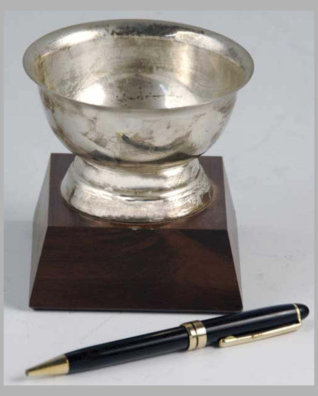Silver Cup small trophy