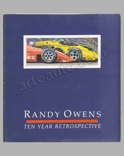 Ten Year Retrospective book by R. Owens, 1988, signed