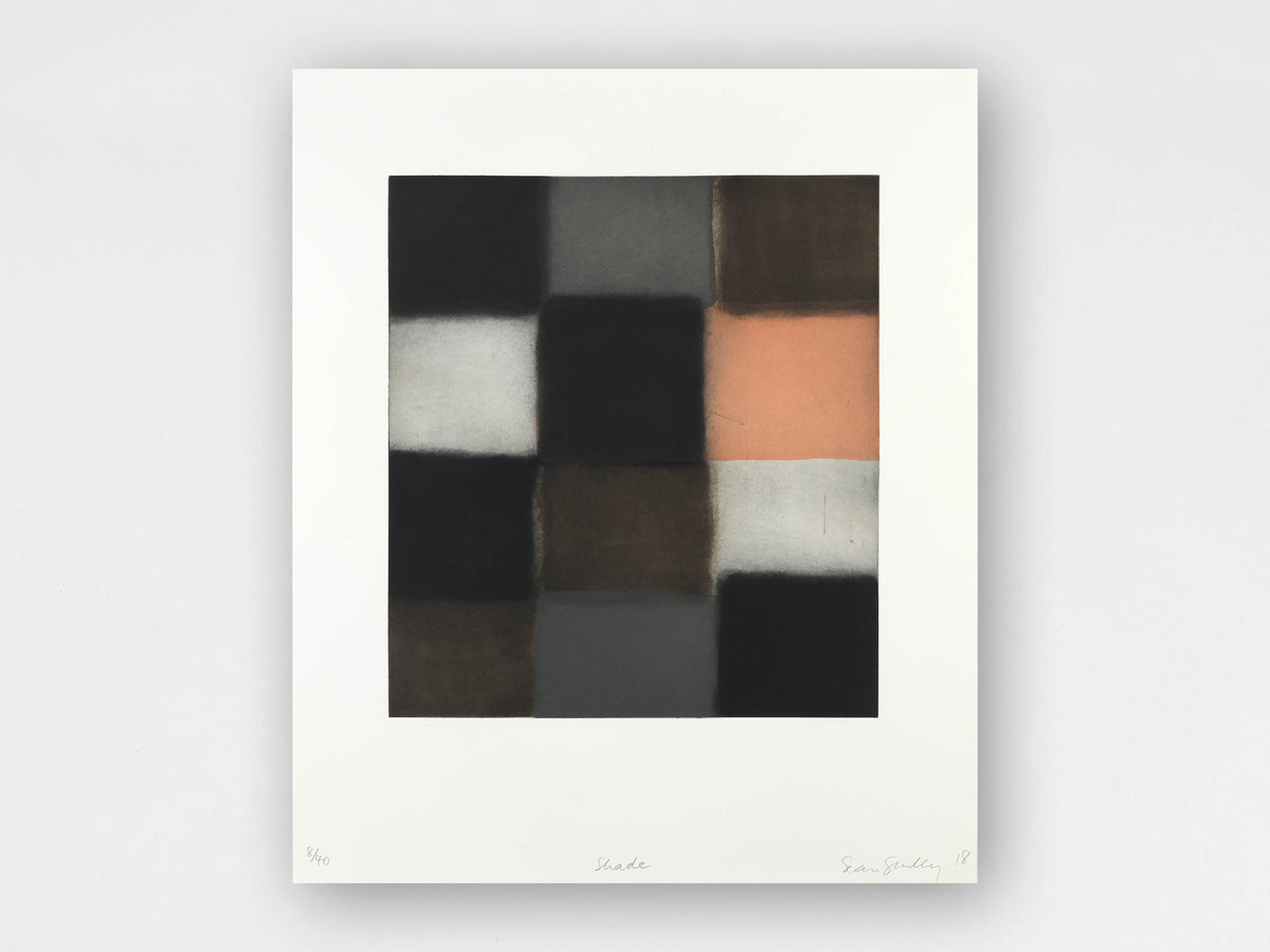 Sean Scully 'Shade' Limited-Edition Print