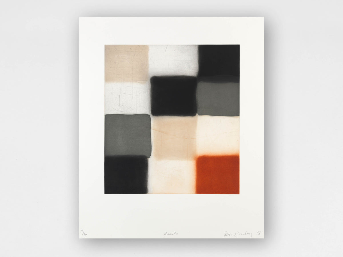 Sean Scully 'Rust' Limited-Edition Print