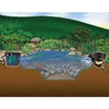 Image of Aquascape DIY Backyard MicroPond Kit 4 ft. x 6 ft. 99763-pond kit-Aquascape-Kinetic Water Features