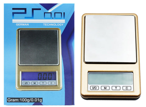 Precision German Tech Gold Series Scale 100g X 0.01g