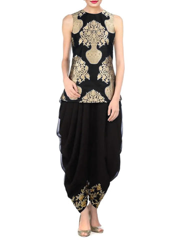 Kurti and Dhoti Pants