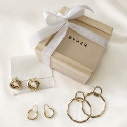 Her Golden Moment Earring Hamper