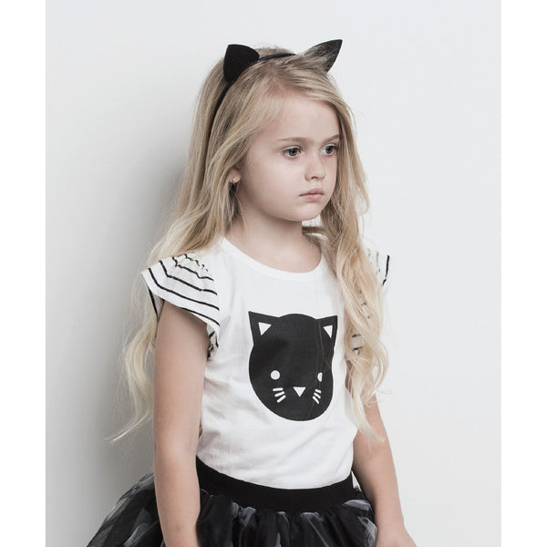Huxbaby Frill Top | Cat-BubandBoo