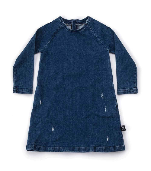 NUNUNU A Dress | Denim-BubandBoo