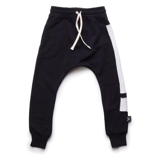 NUNUNU Baggy Pants | Black | Exclamation-BubandBoo