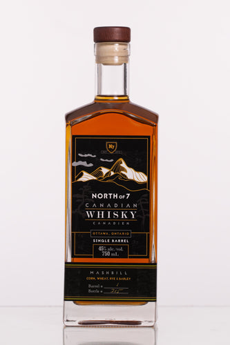North of 7 Canadian Whisky - Four Grain Mashbill