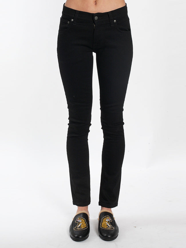 TIGHT TERRY JEANS - EVER BLACK