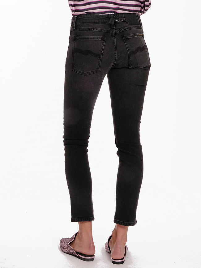 SKINNY LIN JEANS - BLACK MOVEMENT