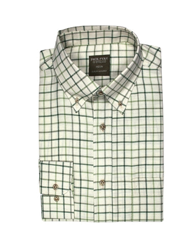 Jack Pyke Countryman Shirt - Green Check