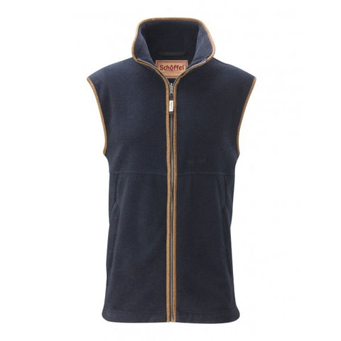 Schoffel Oakham Fleece Gilet - Navy