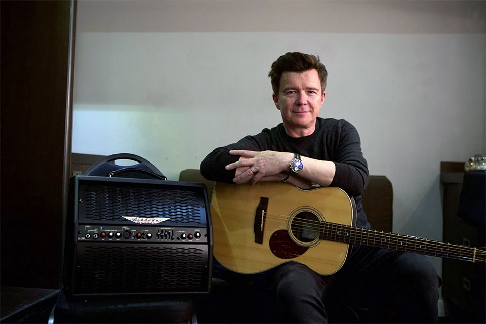 Rick Astley - Backstage Pass at Cliffs Pavilion