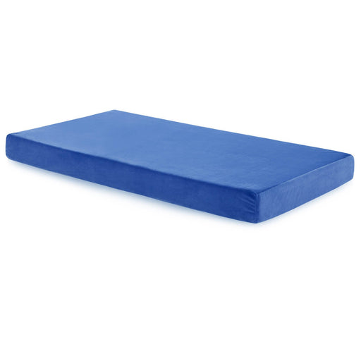 "Aki-Sleep 6"" Brighton Blue Twin Mattress"