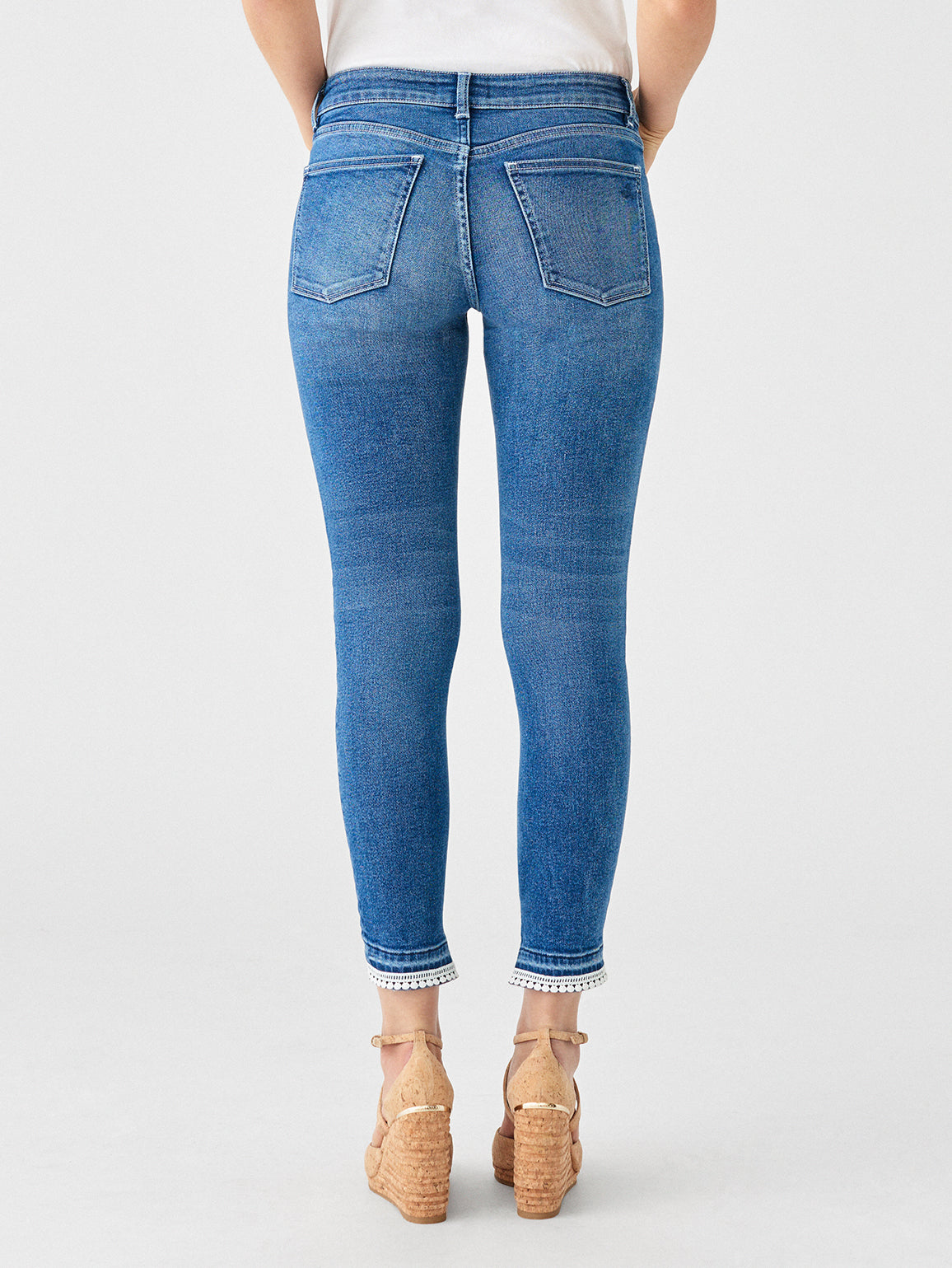 Florence Crop Mid Rise Skinny | Adelaide