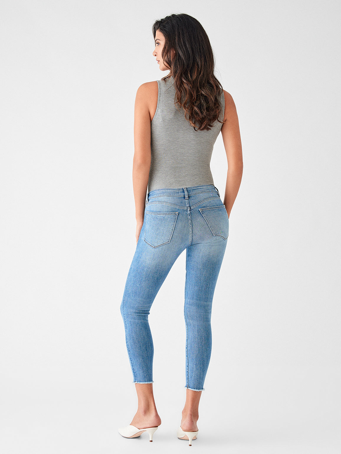 Florence Crop Mid Rise Skinny | Fulton