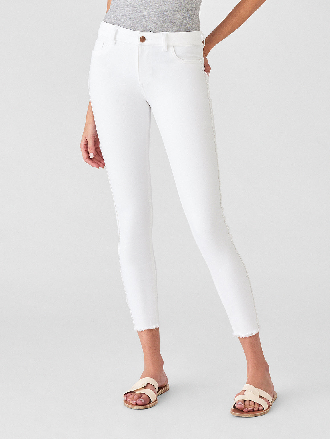 Florence Ankle Mid Rise Skinny | Milos