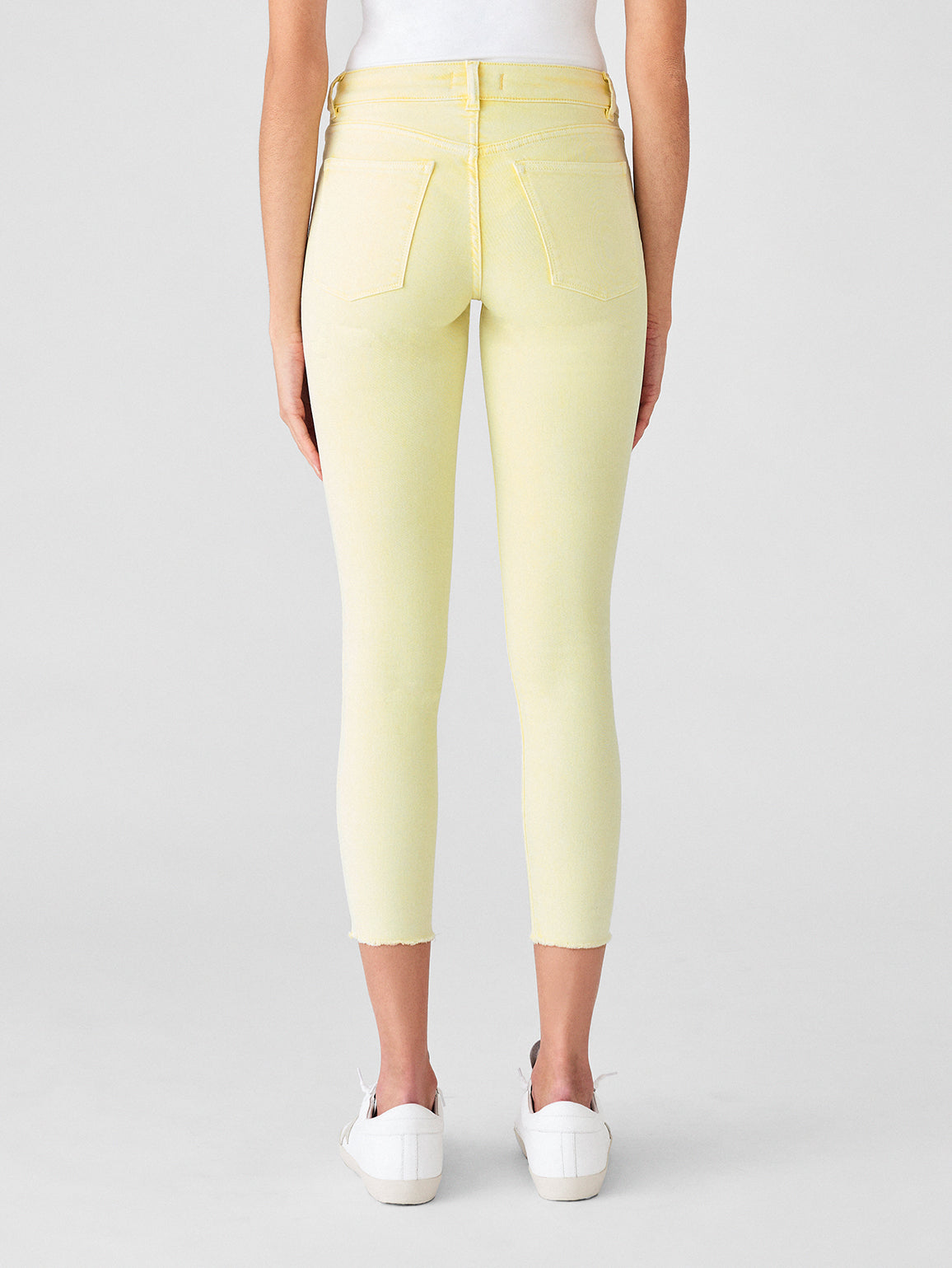 Florence Crop Mid Rise Skinny | Citrus