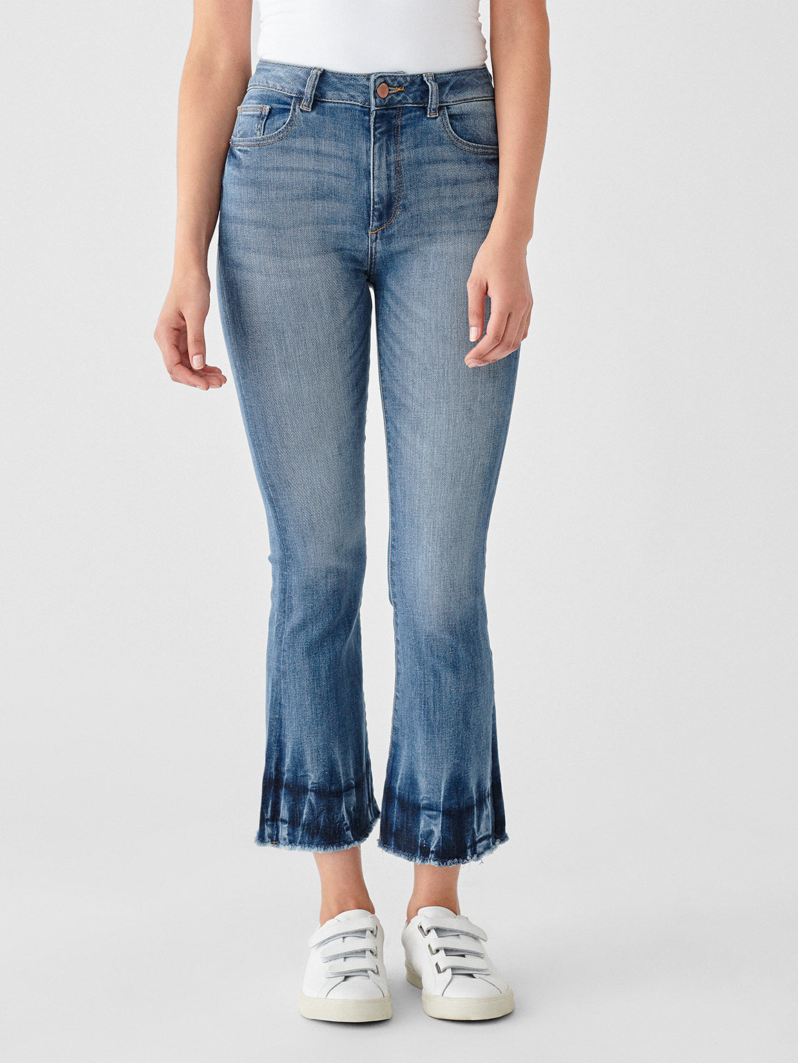 DL191 Premium Denim | Bridget Crop High Rise Zuma