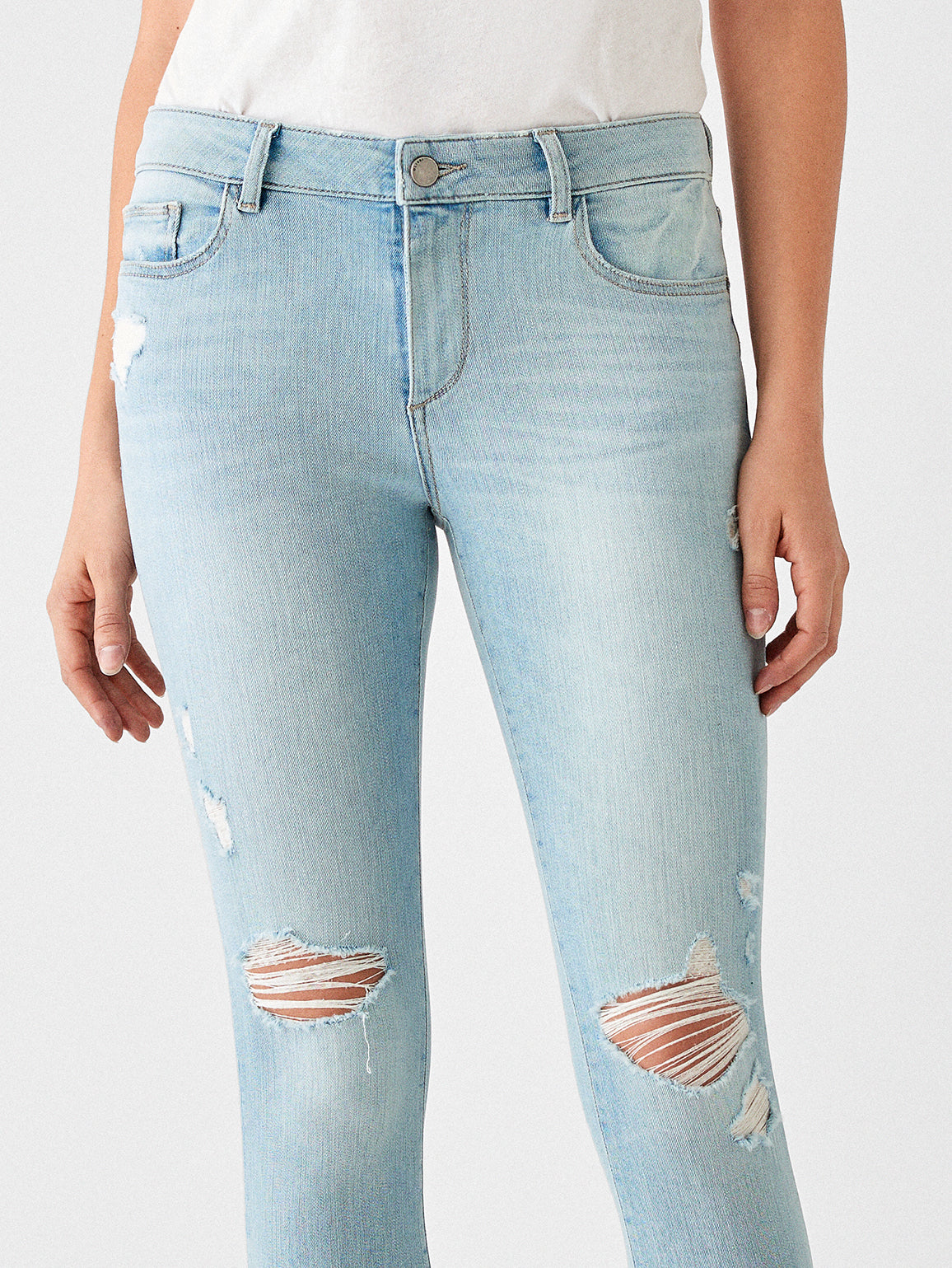 Florence Crop Mid Rise Skinny | Fairfax