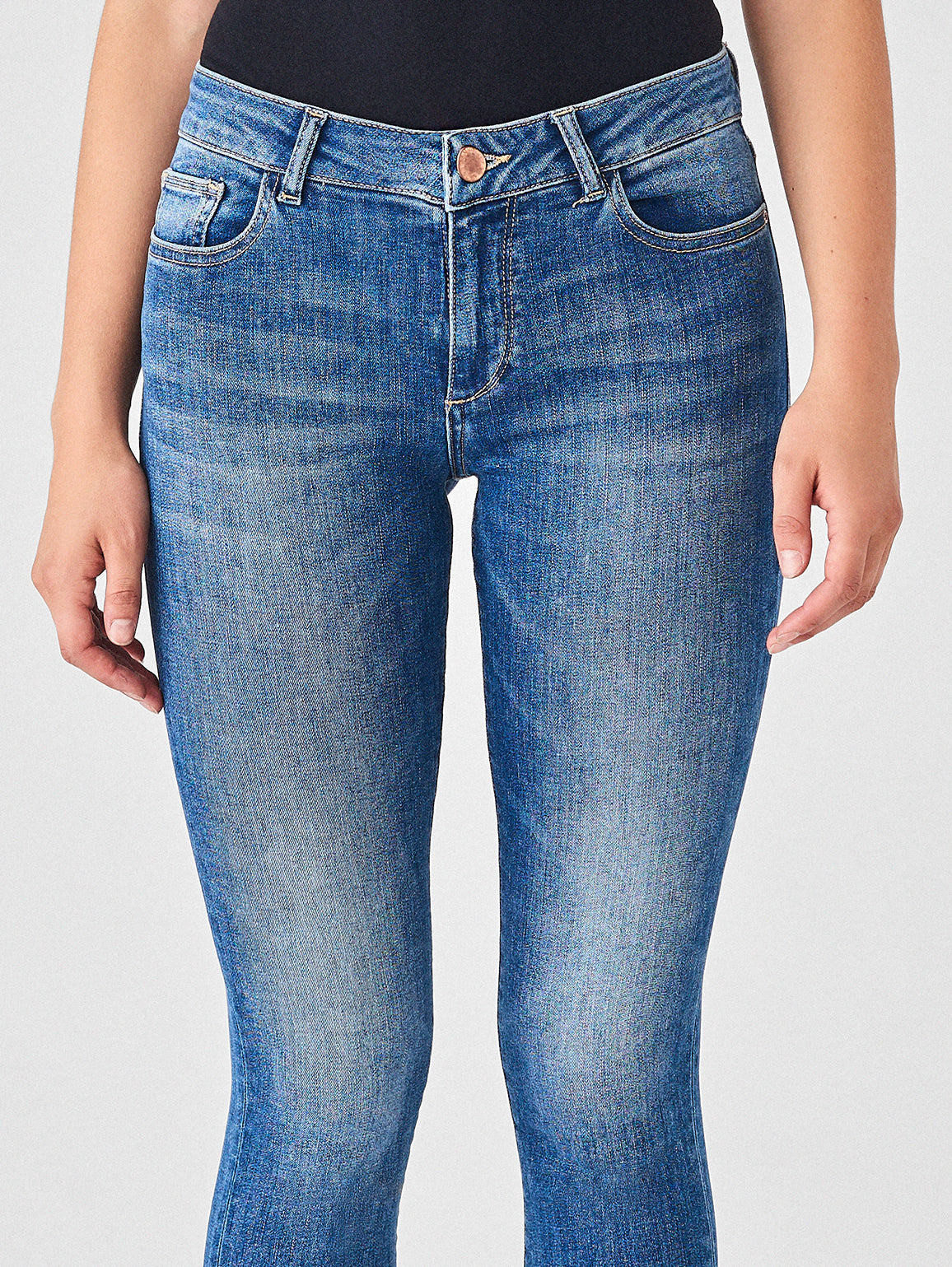 Women - Florence Crop Mid Rise Skinny | Everglade - DL1961