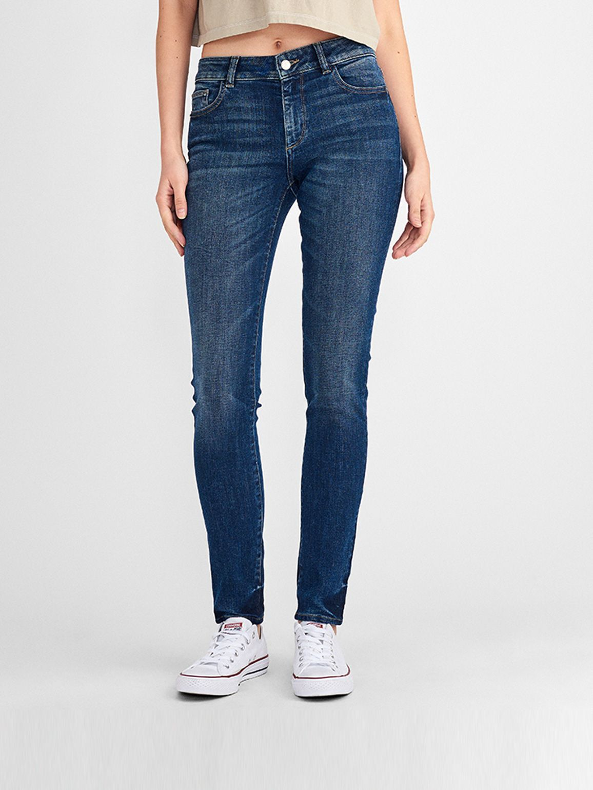 Florence Mid Rise Skinny | Wade