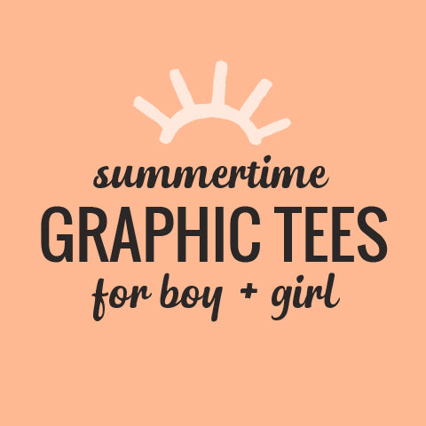 graphic tees at Little Skye boutique
