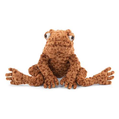 Jellycat orange frog Toad stuffed animal