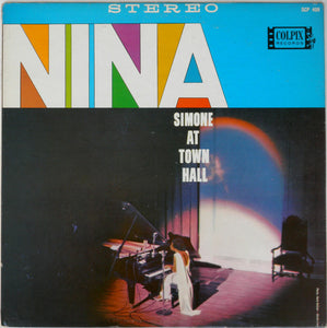 NINA SIMONE - At Town Hall (Vinyle) - Concord