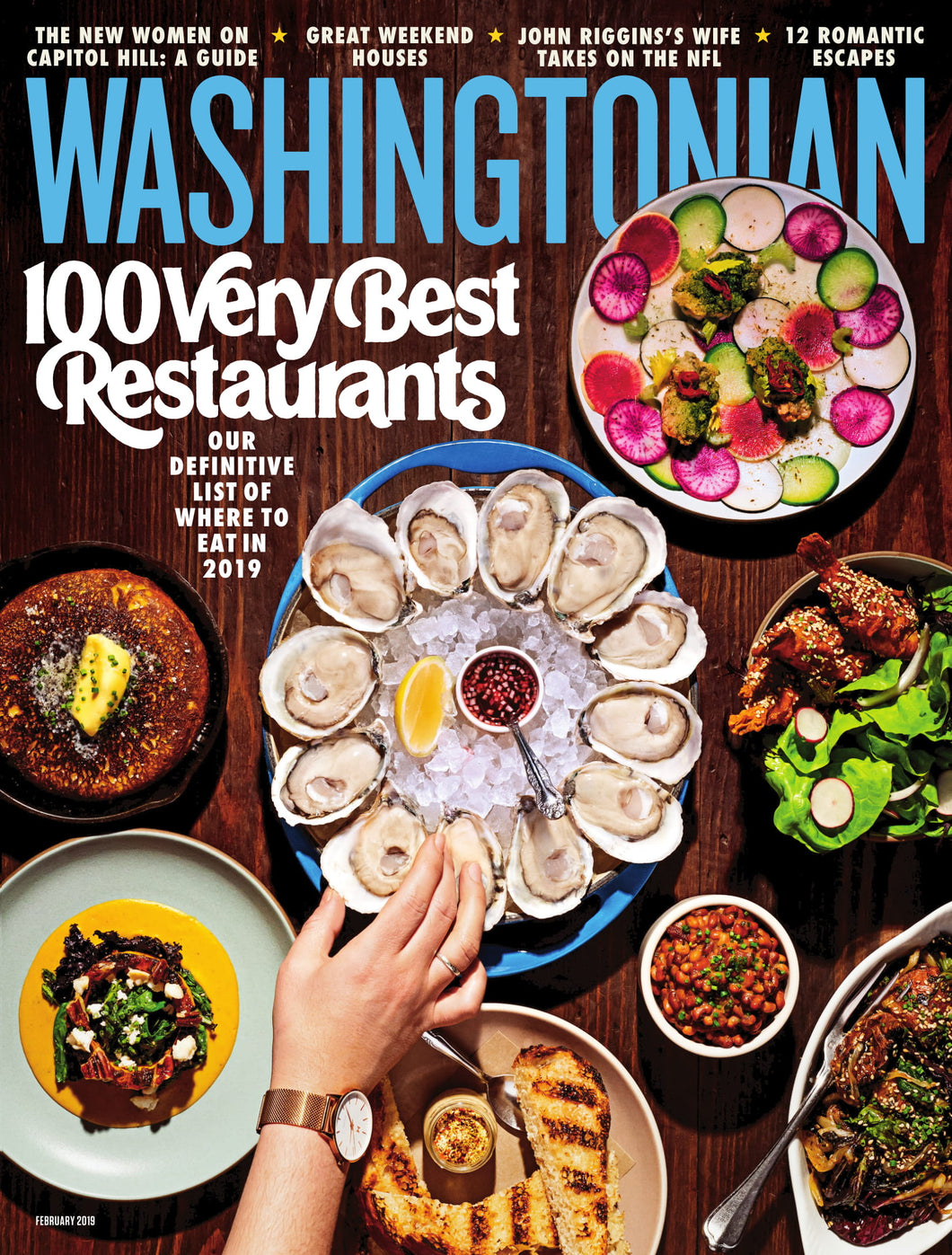 Washingtonian: February 2019 - 100 Very Best Restaurants