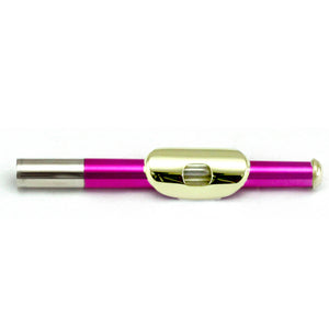 Sky(Paititi) Band Approved Hot Pink Lacquer Plated Gold Key Piccolo Key of C Starter Kit